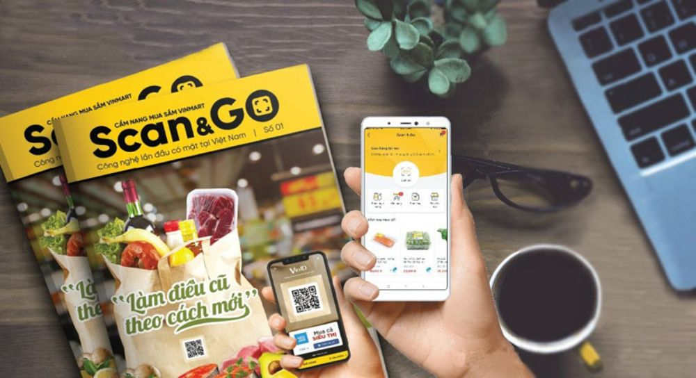 Danh mục hàng trong Scan And Go