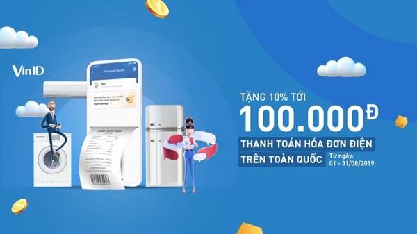 uu diem thanh toan tien dien online tren vinid