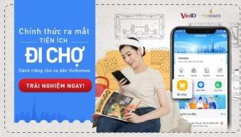 Sử dụng tiện ích Đi Chợ trên app VinID như thế nào?