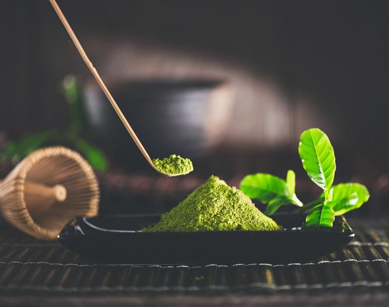 Bột trà xanh với thành phần chứa nhiều EGCG tăng đề kháng cho cơ thể