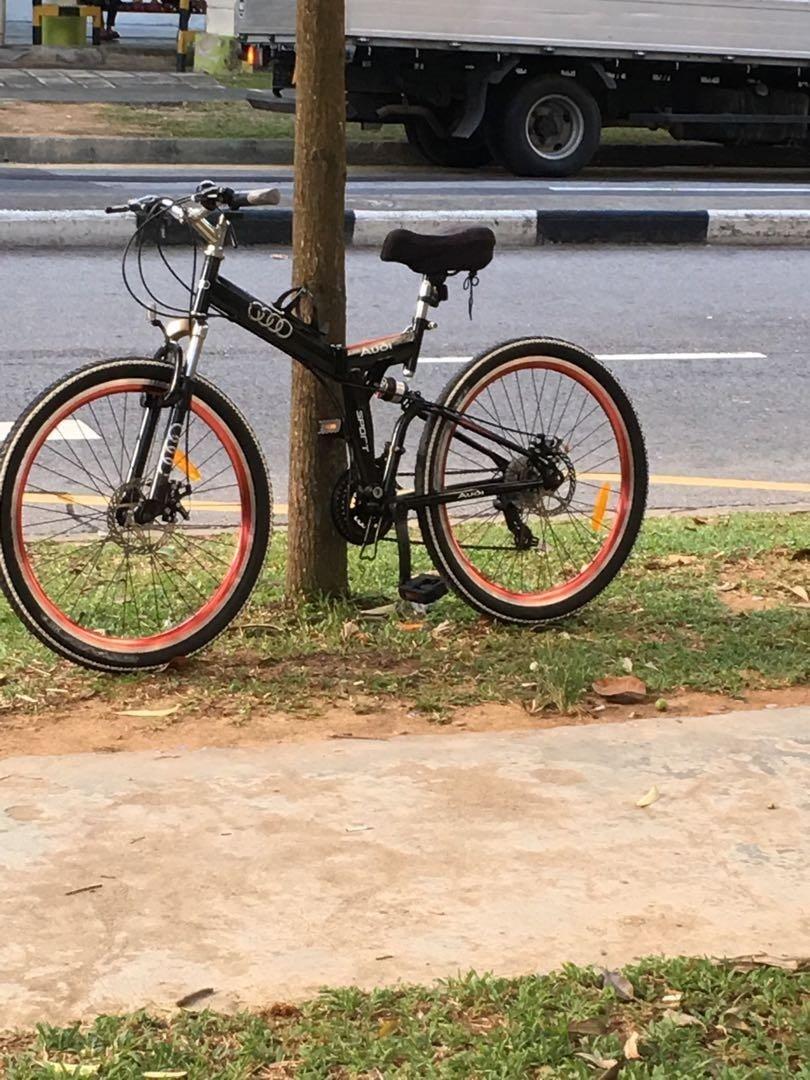 xe đạp gấp cao cấp hiệu audi