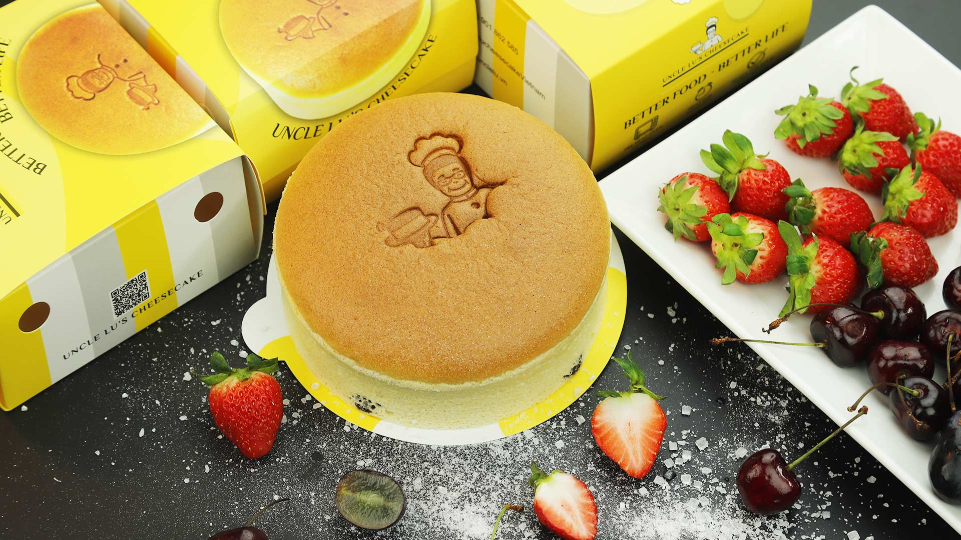 Uncle Lu's Cheesecake