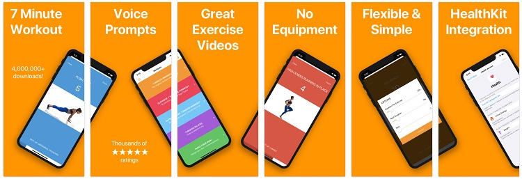 Ứng dụng 7 Minute Workouts