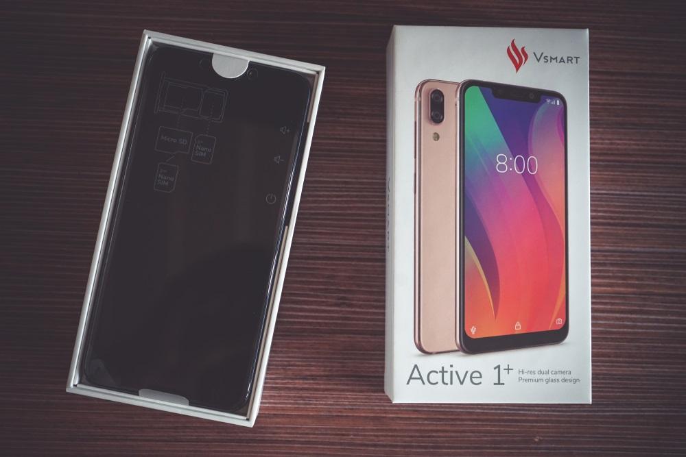 Đánh giá điện thoại Vsmart Active 1 plus