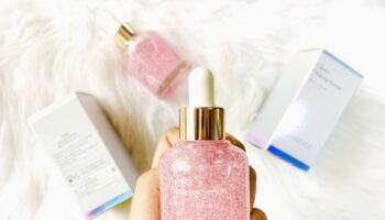 review laneige glowy makeup serum