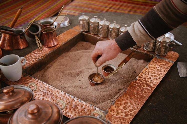 Cách pha cà phê cát thổ nhĩ kỳ