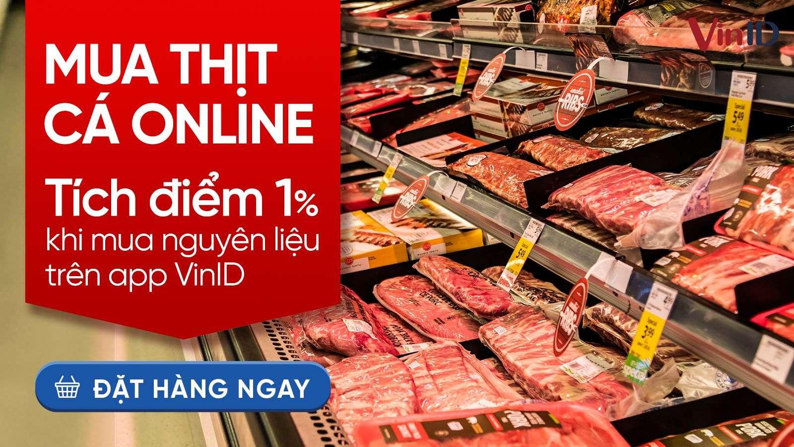 Banner CTA mua thịt cá online