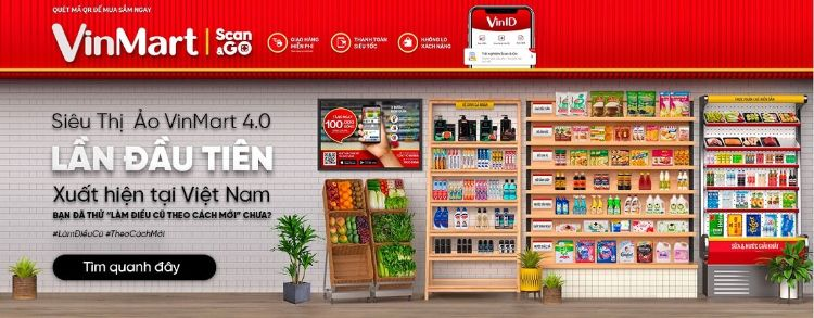 Danh mục hàng trong Scan And Go 2