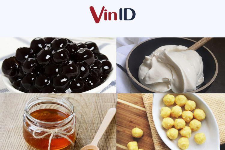 Nguyên liệu làm bánh Trung thu trân châu đường đen dễ tìm